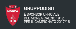 Gruppo Digit sponsor Monza Calcio